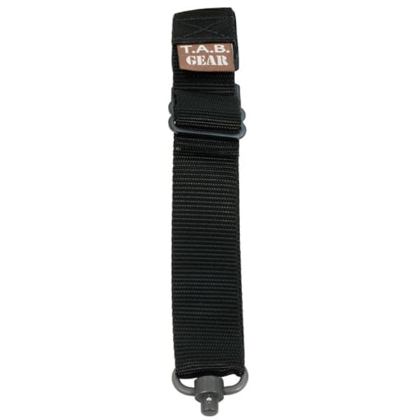 TAB Rifle Sling with Flush Cups - Black