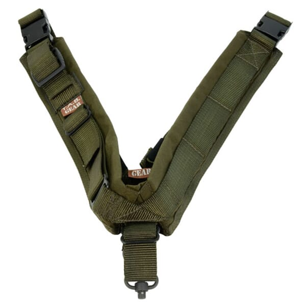TAB Biathlon Sling with Flush Cups - OD Green