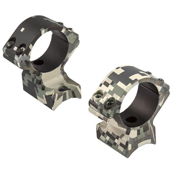 Talley Aluminum Ring Set 30mm High Open Country Camo