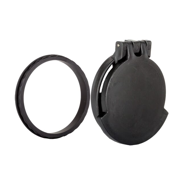 Tenebraex Objective Flip Cover w/ Adapter Ring for Bushnell Elite Tactical 3.5-21x50 50NFCC-FCR