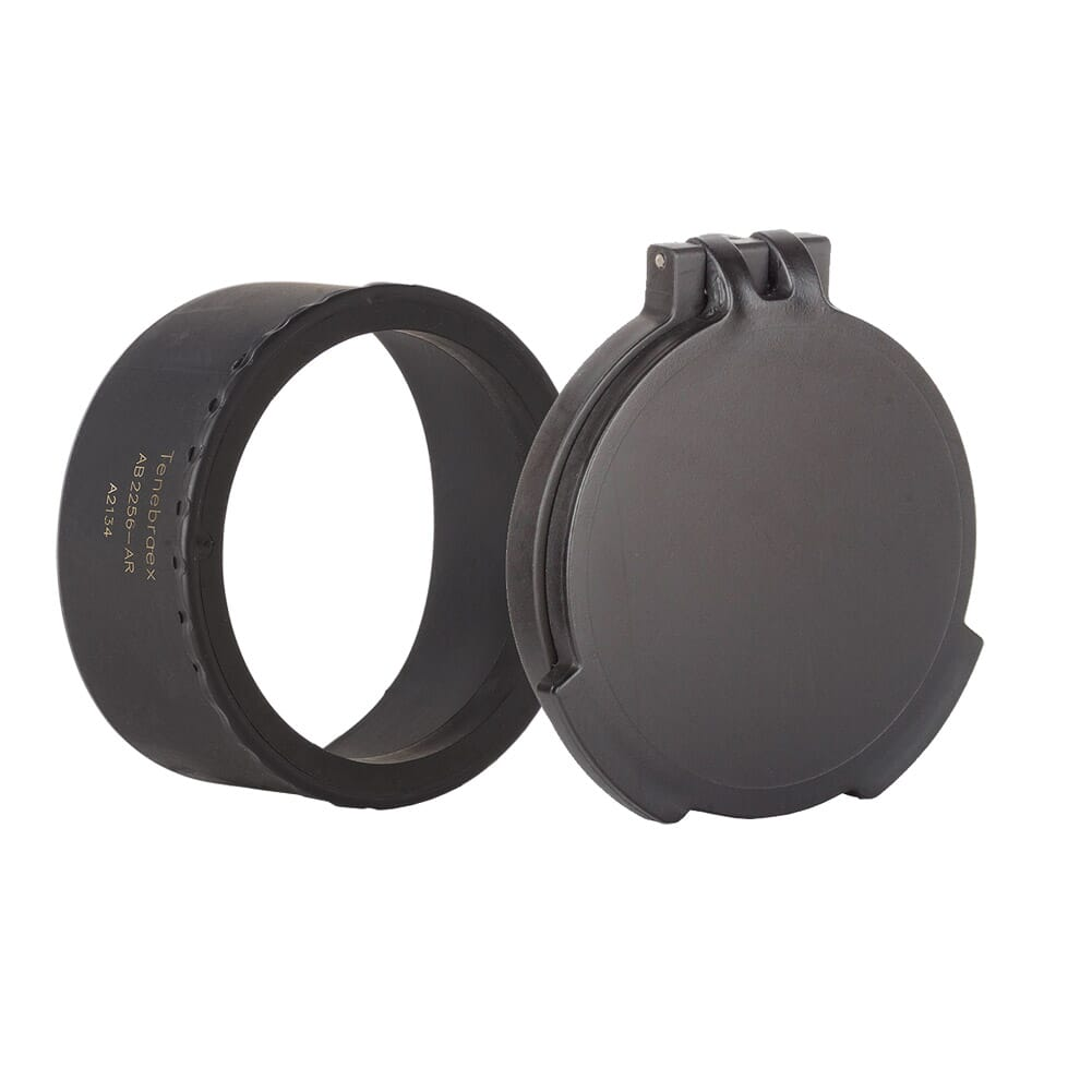 Tenebraex Objective Flip Cover w/ Adapter Ring for Sig Sauer Tango6 4-24x50 AB2156-FCR
