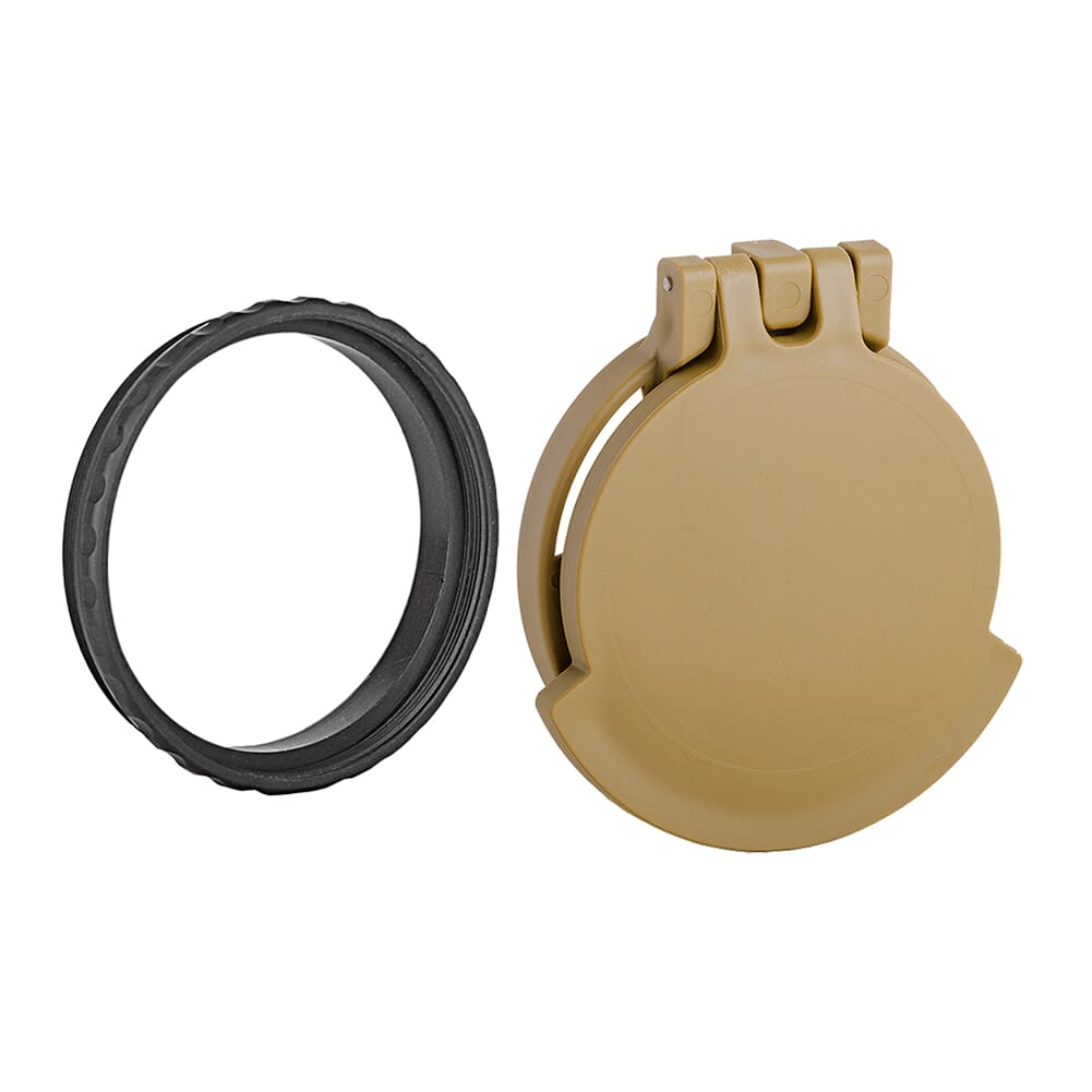 Tenebraex Objective Flip Cover w/ Adapter Ring for Kahles 3-12x50 SB5001-FCR