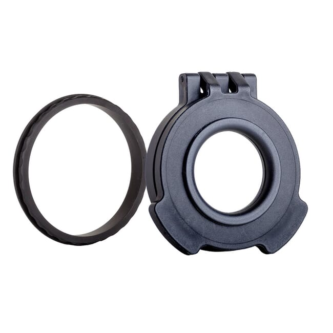 Tenebraex Clear Objective Flip Cover w/ Adapter Ring for Hensoldt ZF 3.5-26x56 56CZC0-CCR