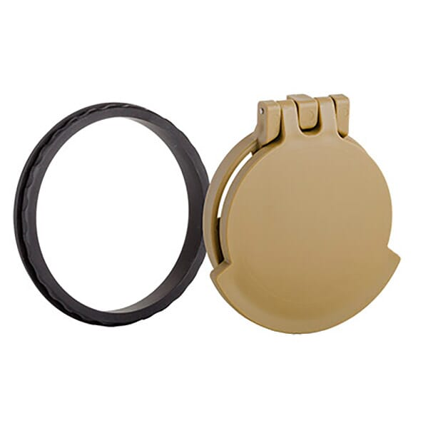 Tenebraex Objective Flip Cover w/ Adapter Ring RAL8000/Black for Kahles K312i 3-12x50 and K318i 3.5-18x50i KR5052-FCR