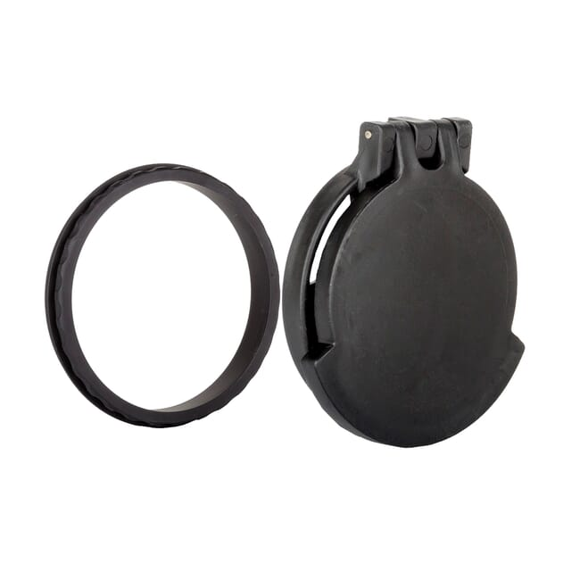 Tenebraex Objective Flip Cover w/ Adapter Ring for Kahles 3-12x50 50FCR-001BK1