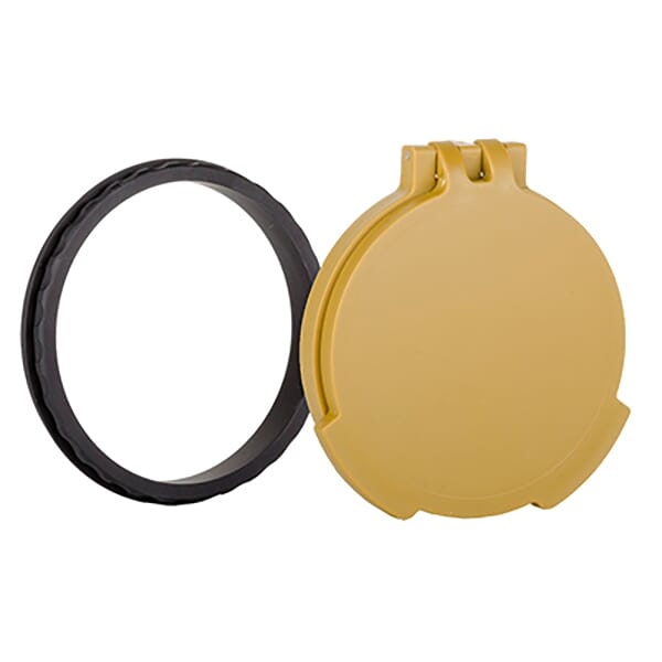 Tenebraex Objective Flip Cover w/ Adapter Ring RAL 8000/Black for 56mm Objective Scopes KR5658-FCR