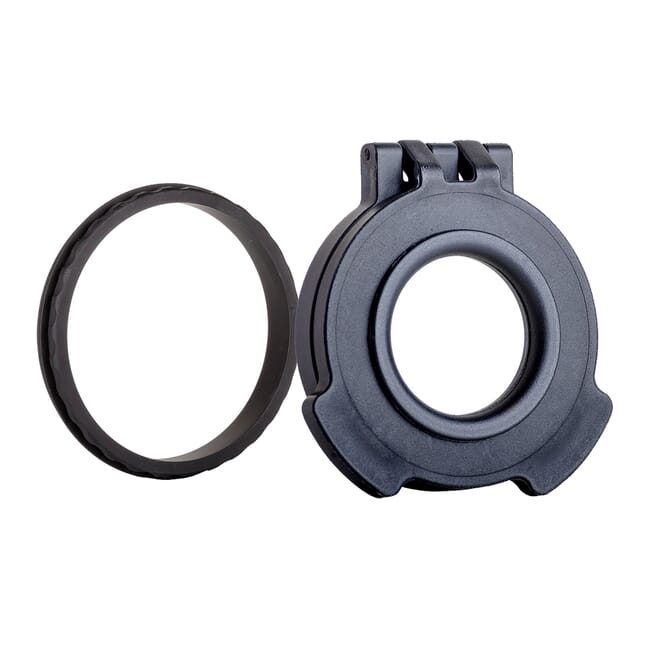 Tenebraex Objective Clear Flip Cover w/ Adapter Ring for Kahles and Zeiss Scopes CZV560-CCR
