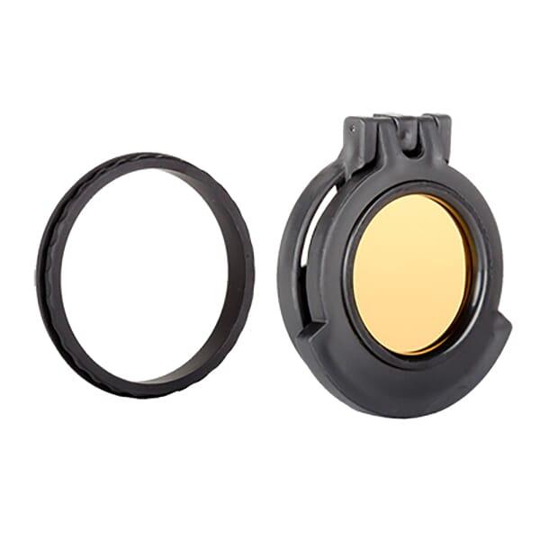 Tenebraex Ocular Amber Flip Cover w/ Adapter Ring for S&B 1-8x24 Exos and PM II ShortDot SB24EC-ACR