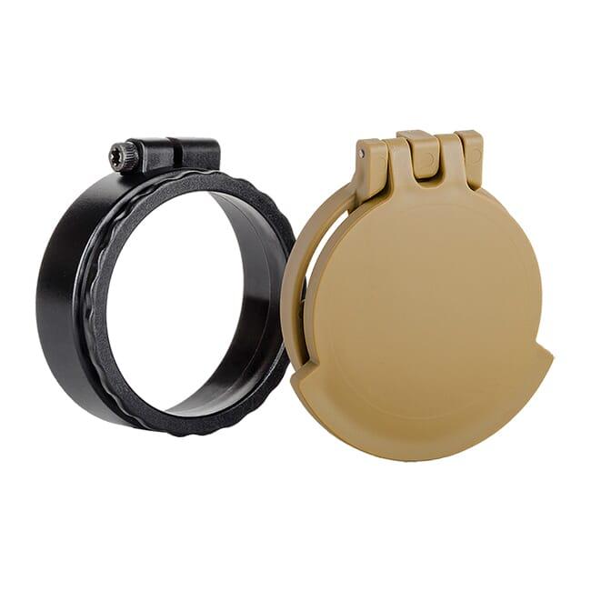 Tenebraex Ocular Flip Cover w/ Adapter Ring for Hensoldt ZF 4-16x56 PRFC08-FRA003-FCR
