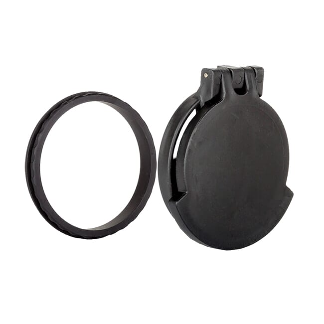 Tenebraex Objective Flip Cover w/ Adapter Ring for Nightforce SHV 3-10x42 KS4247-FCR