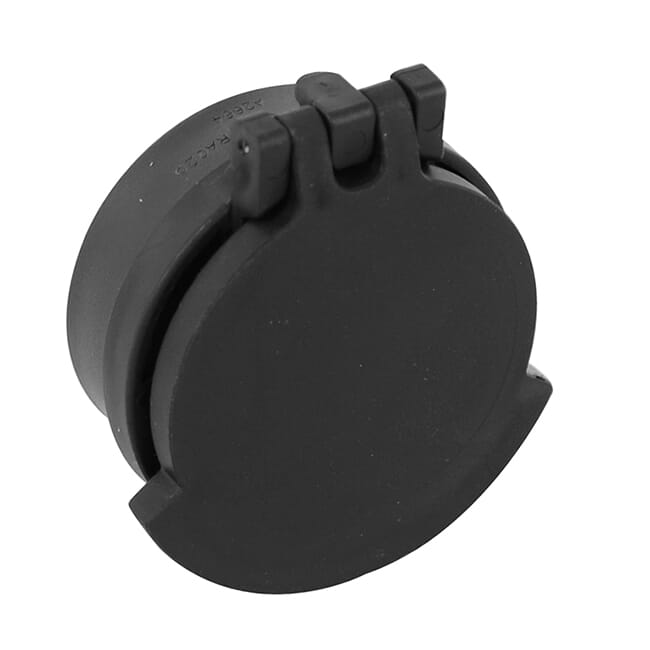 Tenebraex Black Occular Flip Cover w/ Adapter Ring for Schmidt Bender Klassik 4-16x50 Ocular Lens UAC025-FCR
