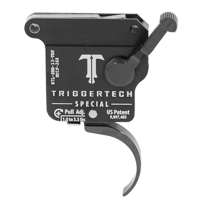TriggerTech Rem 700 Factory LH Special Pro Blk/Blk Single Stage Trigger R7L-SBB-13-TBP