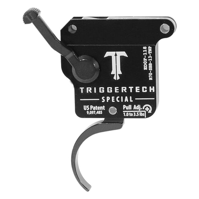 TriggerTech Rem 700 Clone Special Pro Clean Blk/Blk Single Stage Trigger R70-SBB-13-TNP