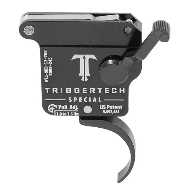 TriggerTech Rem 700 Clone LH Special Pro Clean Blk/Blk Single Stage Trigger R7L-SBB-13-TNP