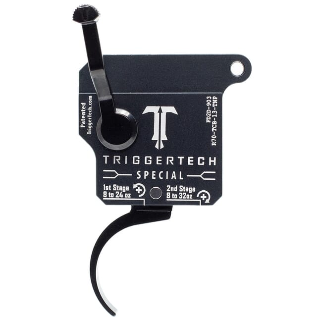 TriggerTech Rem 700 Clone RH Two Stage Blk/Grey Special Pro Clean 1.1-4.0 lbs Trigger R70-TCB-13-TNP