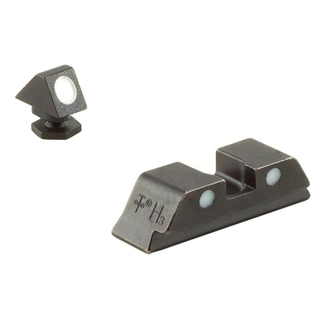 Trijicon Bright & Tough Night Sight Set for All Glock Models NO TRITIUM GL05 600234