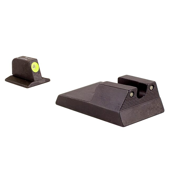 Trijicon Ruger SR9, 40, 40C, 45 HD Night Sight Yellow RA114Y