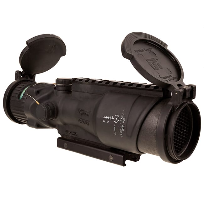 TA648MGO-M2 ACOG 6x48 Machine Gun Optic Dual Illum Green Horseshoe/Dot 500 Ballistic Reticle, GDI Mo TA648MGO-M2