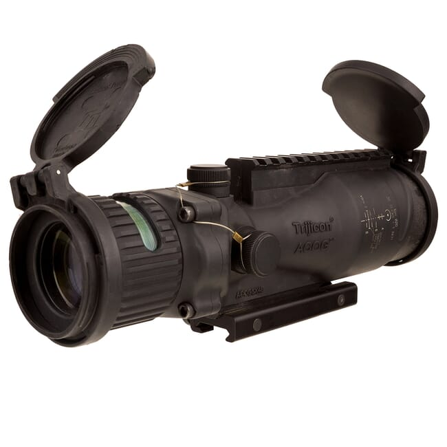 TA648MGO-M240 ACOG 6x48 Machine Gun Optic Dual Illum Green Horseshoe/Dot 7.62mm Ballistic Reticle, A TA648MGO-M240
