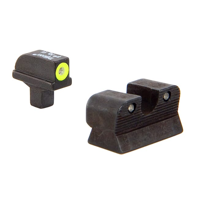 Trijicon HD Night Sight Set Yellow Officers/Compact CA109-C-600811