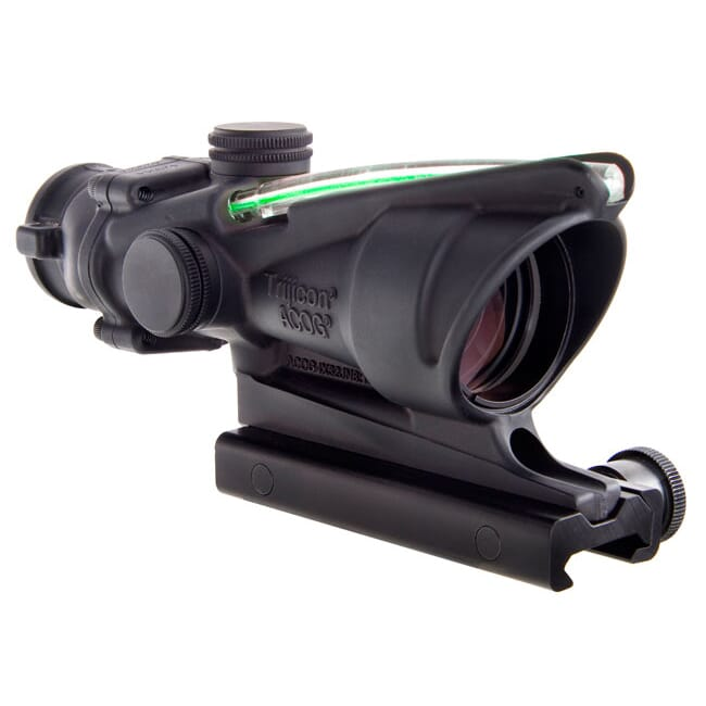 Trijicon TA31H-G ACOG 4x32 Dual Illum Green Horseshoe/Dot 223 Ballistic Reticle w/TA51 mount - Trijicon ACOG