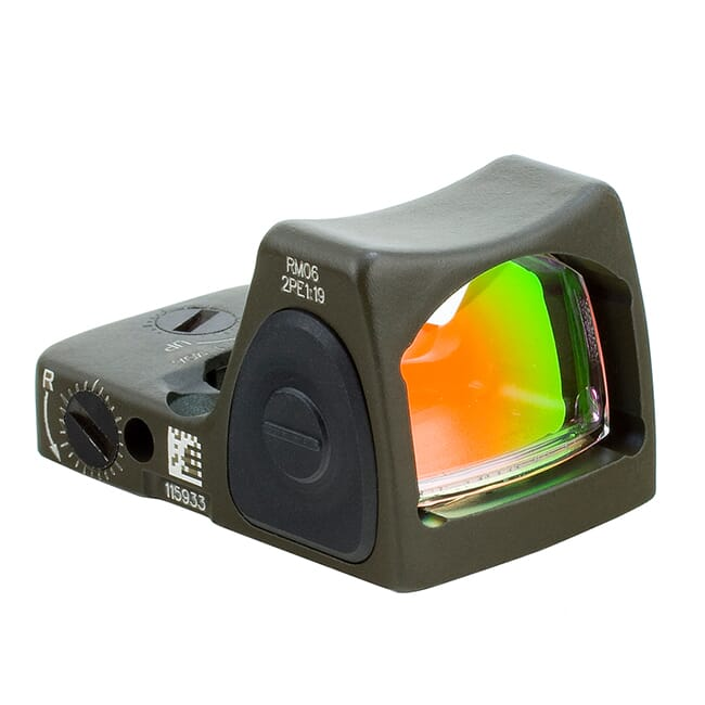 Trijicon 6.5 Adj Red RMR Type 2 - CK ODG RM07-C-700716