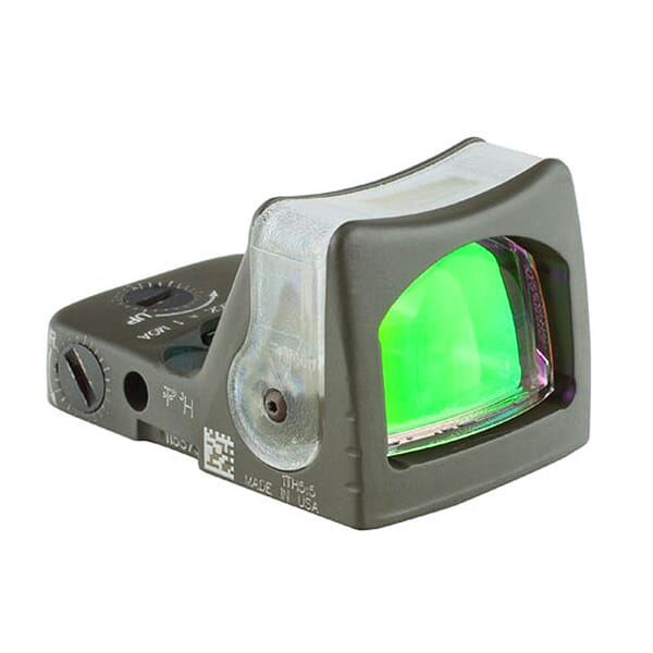 Trijicon RMR Dual Illuminated ODG Amber Dot Sight RM05-C-700188