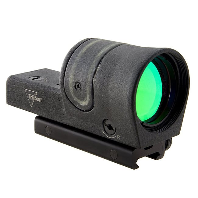 Trijicon 1x42 Reflex Green 4.5 MOA Dot w/ Flattop Mount RX34-C-800112