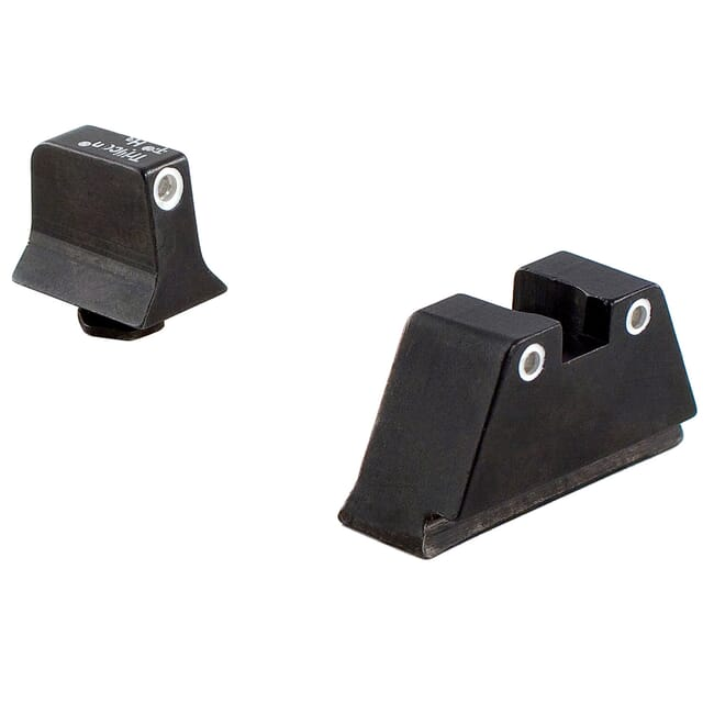 Trijicon Bright & Tough Night Sight Suppressor Set White front/White rear with Green Lamps for Glock® Models 20, 21, 29, 30, and 41 (including S and SF variants) GL204-C-600689 600689