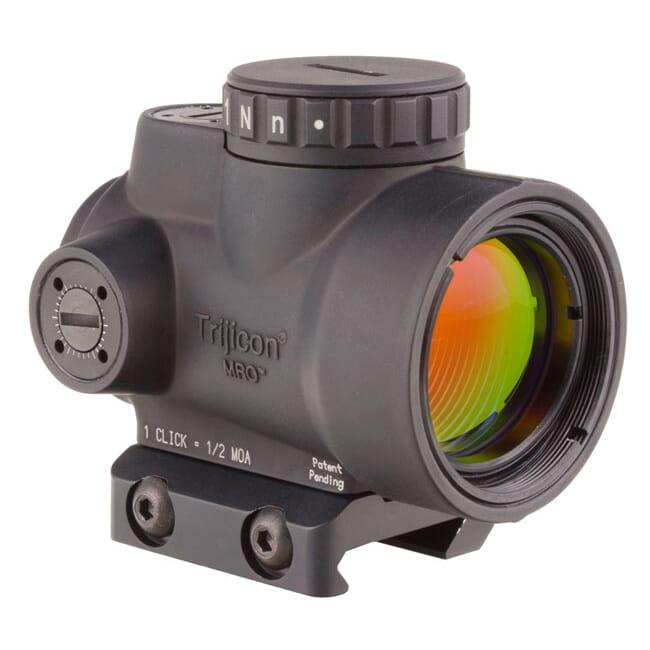 Trijicon 1x25 MRO 2.0 MOA Adj Red Dot AC32067 Mount MRO-C-2200004
