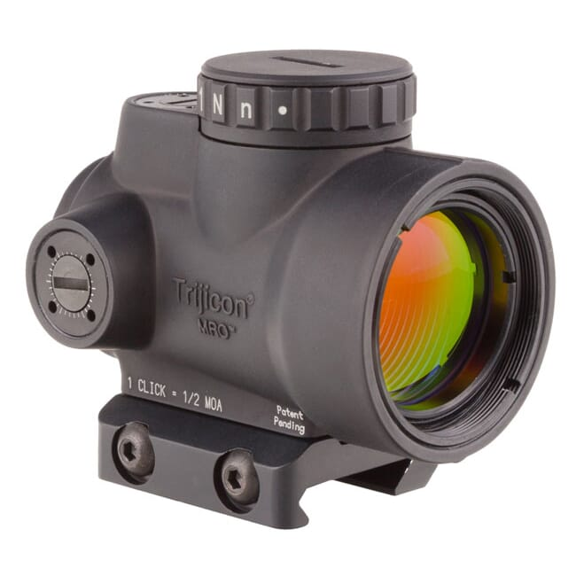 Trijicon 1x25 MRO 2.0 MOA Adj Red Dot AC32067 Mount MRO-C-2200004