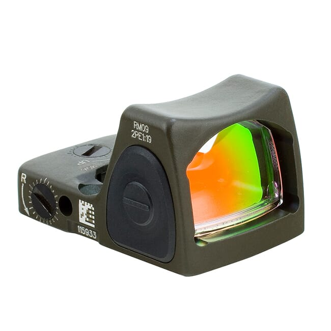 Trijicon 1.0 Adj Red RMR Type 2 - CK ODG RM09-C-700744