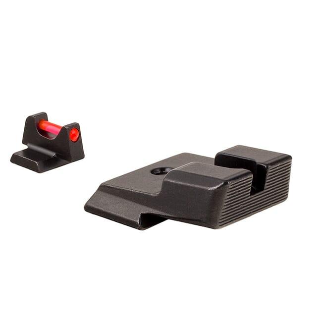 Trijicon Fiber Sight Set - for Smith & Wesson SHIELD .40, .45, and 9mm SA739-C-601035