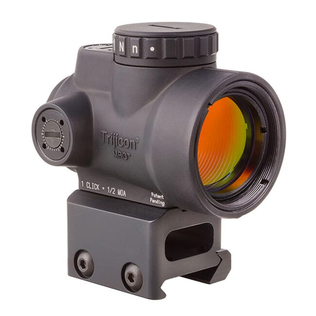 Trijicon 1x25 MRO 2.0 MOA Adj Red Dot AC32068 Mount MRO-C-2200005