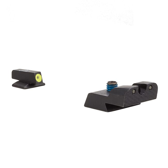 Trijicon HD Night Sight Set - Yellow Front Outline - for Remington RP9 RE107-C-600972