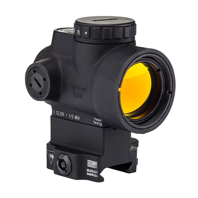 Trijicon MRO 2.0 MOA ADJ Green Dot w/ Full Co-Witness QR Mount MRO-C-2200033