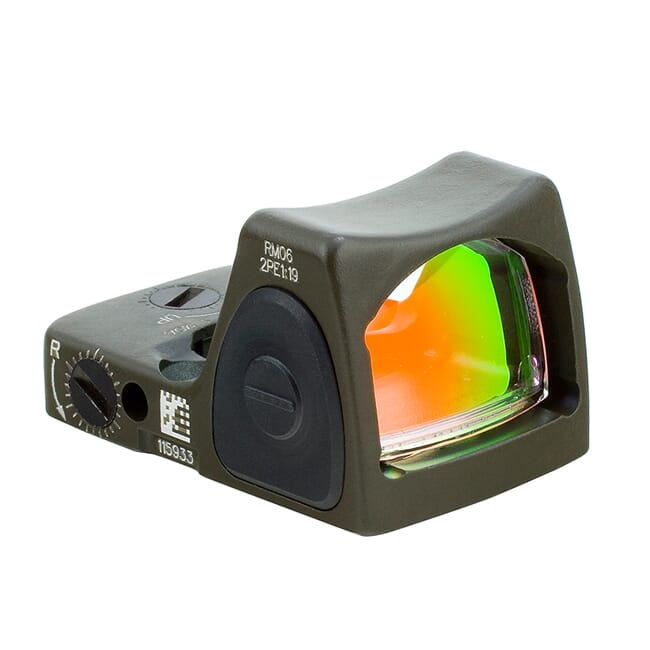 Trijicon 3.25 Adj Red RMR Type 2 - CK ODG RM06-C-700695