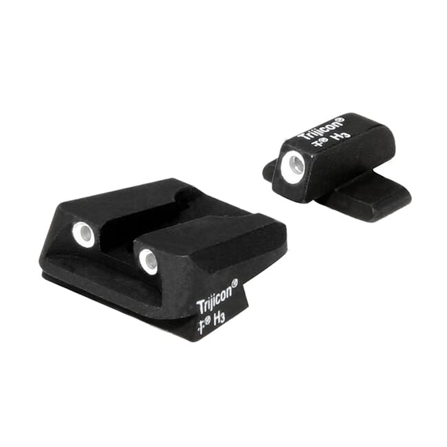 Trijicon Bright & Tough Night Sight Set; #8 Front Novak Rear for Sig Sauer SG05 600473