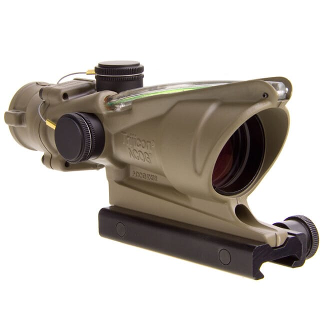 Trijicon ACOG 4x32 Green Crosshair .223 FDE 100380