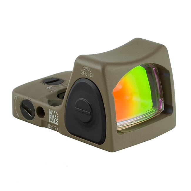 Trijicon 3.25 Adj Red RMR Type 2 - CK FDE RM06-C-700696