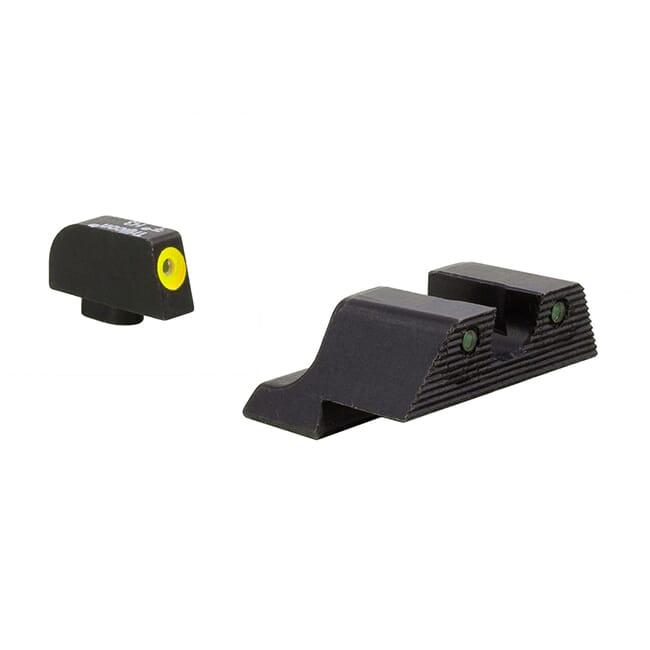 Trijicon HD XR Night Sight Yellow Front Glock Models
