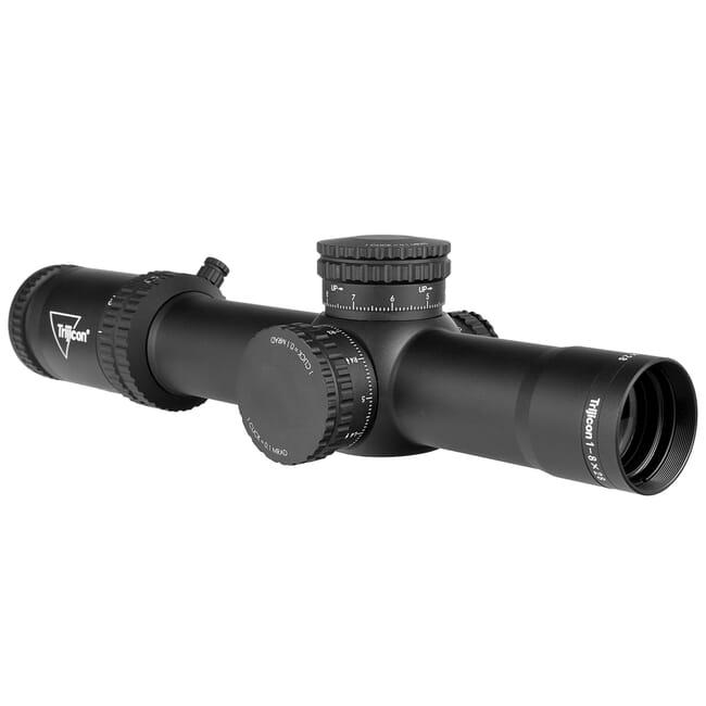 Trijicon Credo 1-8x28 FFP w/ Red/Green MRAD Segmented Circle, 34mm, Matte Black Riflescope 2900032