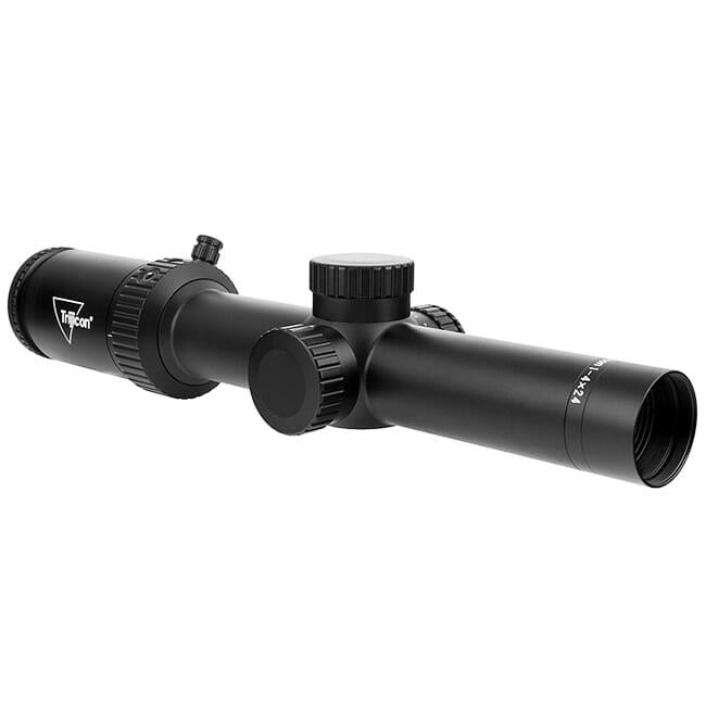 Trijicon Credo HX 1-4x24 SFP w/ Green MOA Precision Hunter, 30mm, Satin Black Riflescope 2900008