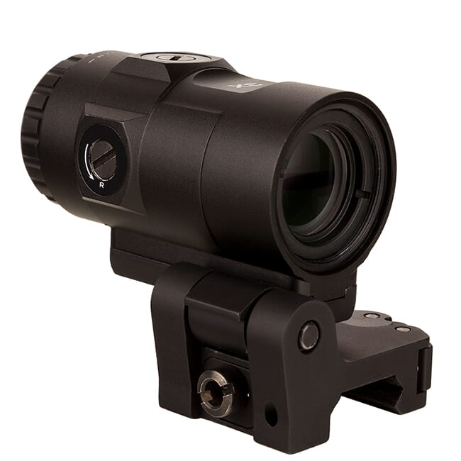 Trijicon 3X Magnifier w/ Adjustable Height Quick Release, Flip to Side Mount MAG-C-2600001