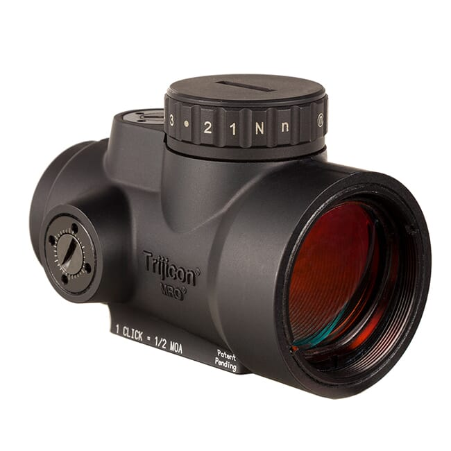 Trijicon 1x25 MRO HD 68 MOA Reticle w/ 2.0 MOA Dot No Mount MRO-C-2200050