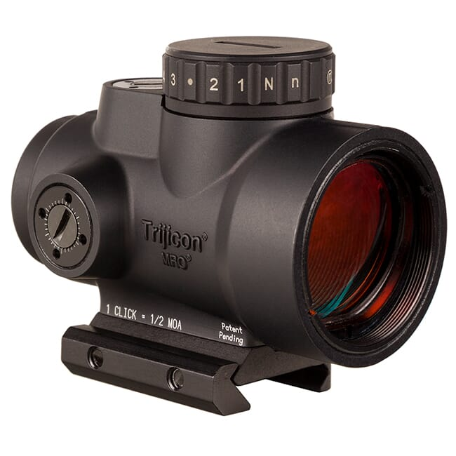 Trijicon 1x25 MRO HD 68 MOA Reticle w/ 2.0 MOA Dot Low Mount AC32067 MRO-C-2200051