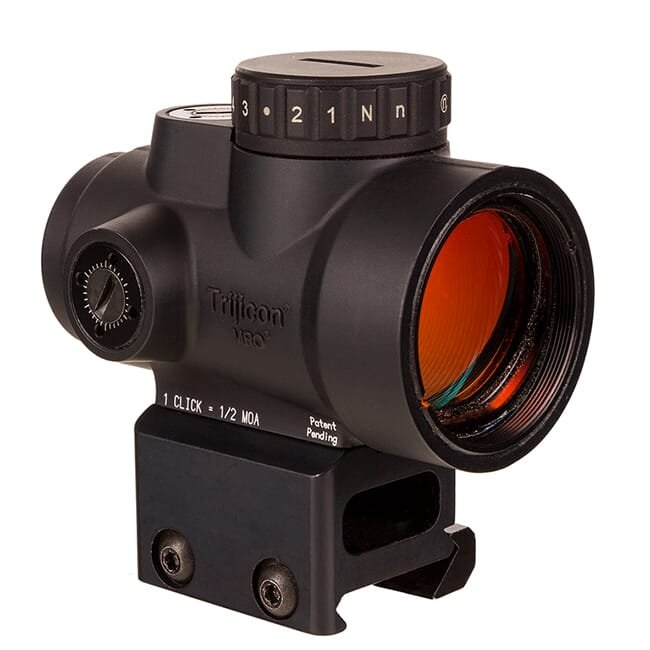 Trijicon 1x25 MRO HD 68 MOA Reticle w/ 2.0 MOA Dot Full Co-Witness AC32068 MRO-C-2200052