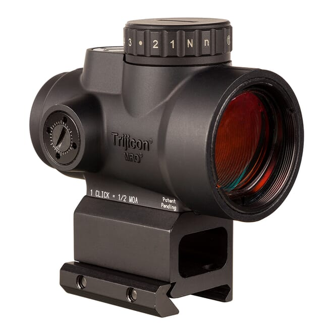 Trijicon 1x25 MRO HD 68 MOA Reticle w/ 2.0 MOA Dot Lower 1/3 Co-Witness AC32069 MRO-C-2200053