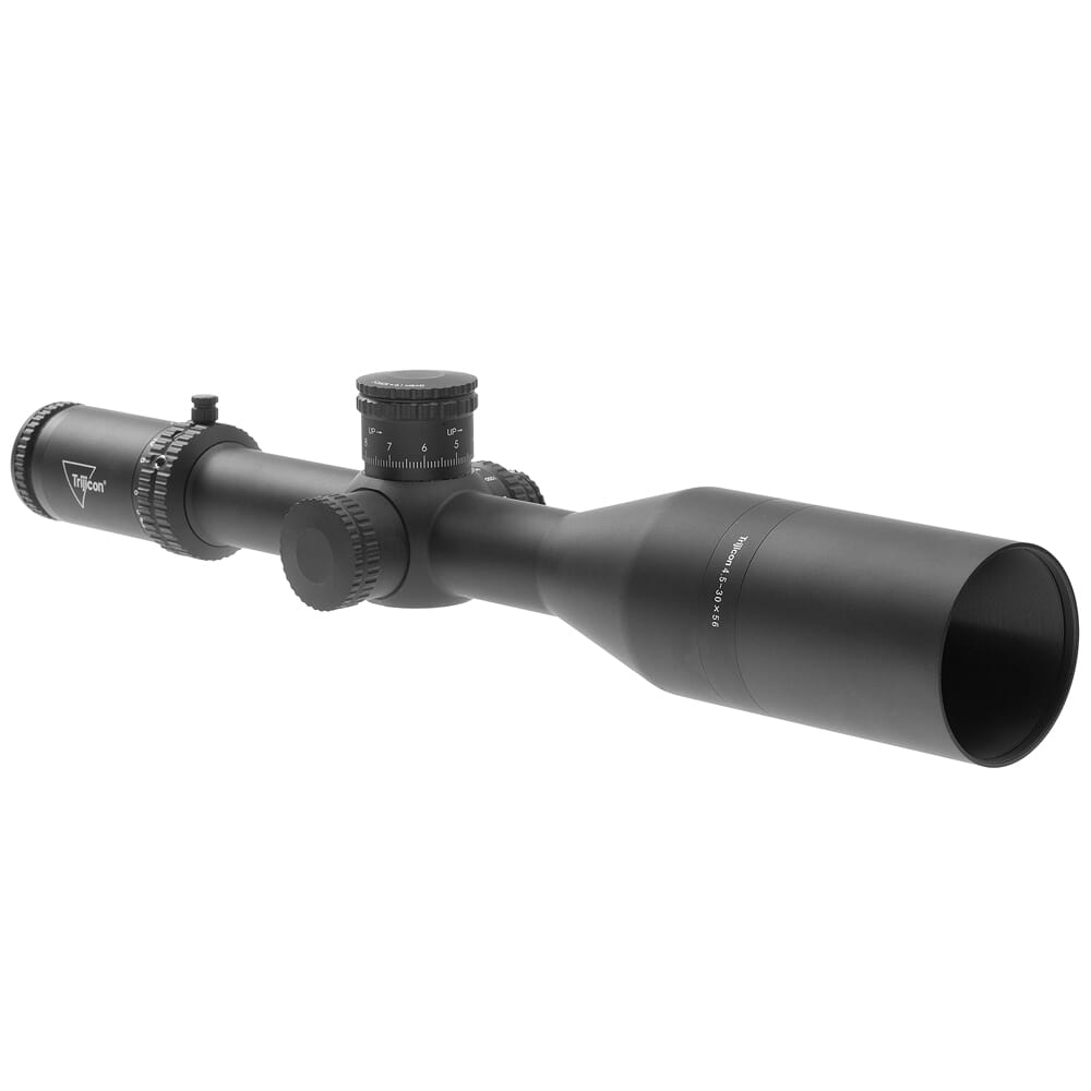 Trijicon Tenmile 4.5-30x56 SFP Long-Range w/ Red/Green MOA Long Range, 34mm, Matte Black Riflescope 3000014