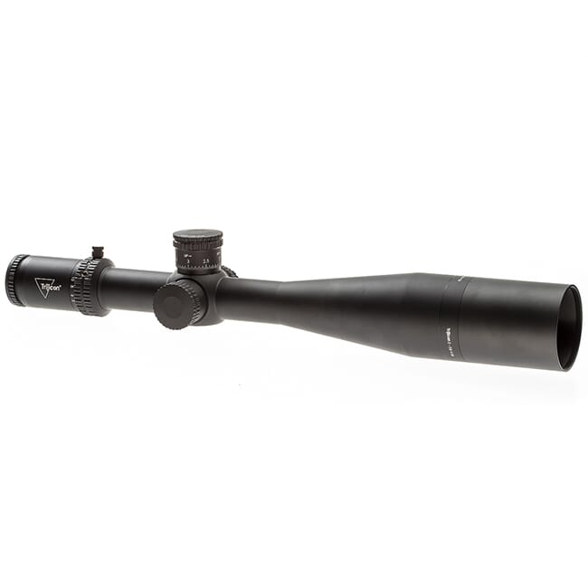 Trijicon Tenmile 5-50x56 Extreme Long-Range w/ Red/Green MRAD Center Dot w/ Wind Holds, 34mm, Matte Black Riflescope 3000017